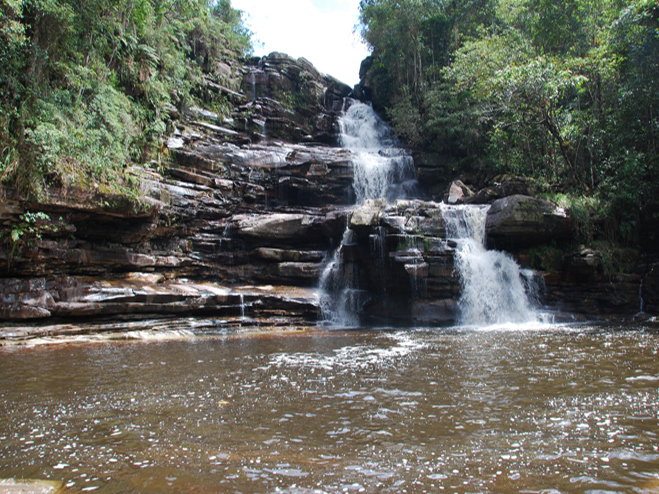 Cachoeira no Rio Calixto I B